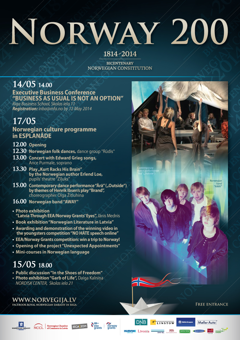 Events - Norwegian Chamber of Commerce in Latvia